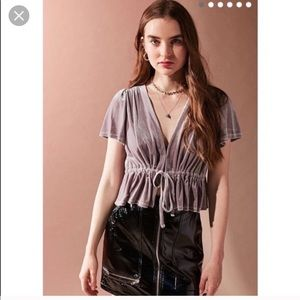 Urban outfitters Goldie top